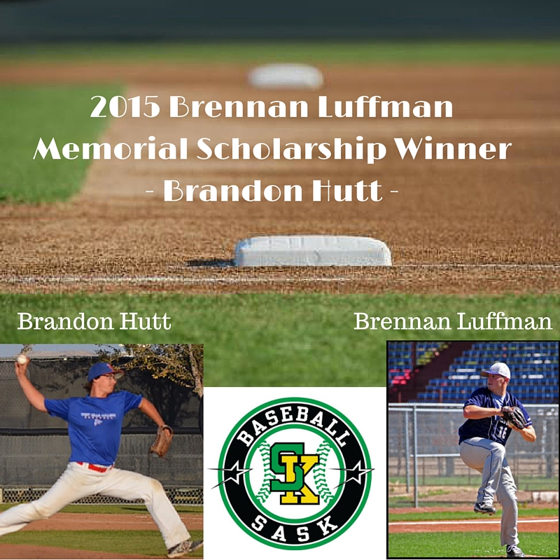 2015 Brennan Luffman Memorial Scholarship Winner