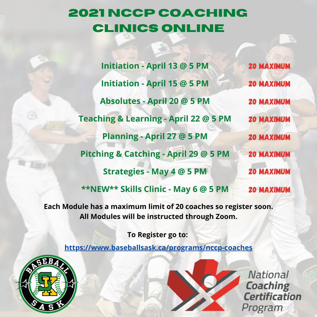 ONLINE NCCP COACHING CLINICS