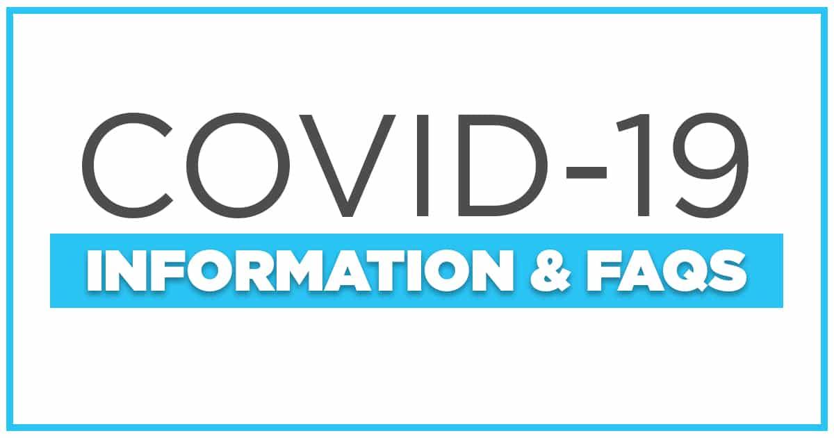 COVID-19 Update & FAQ