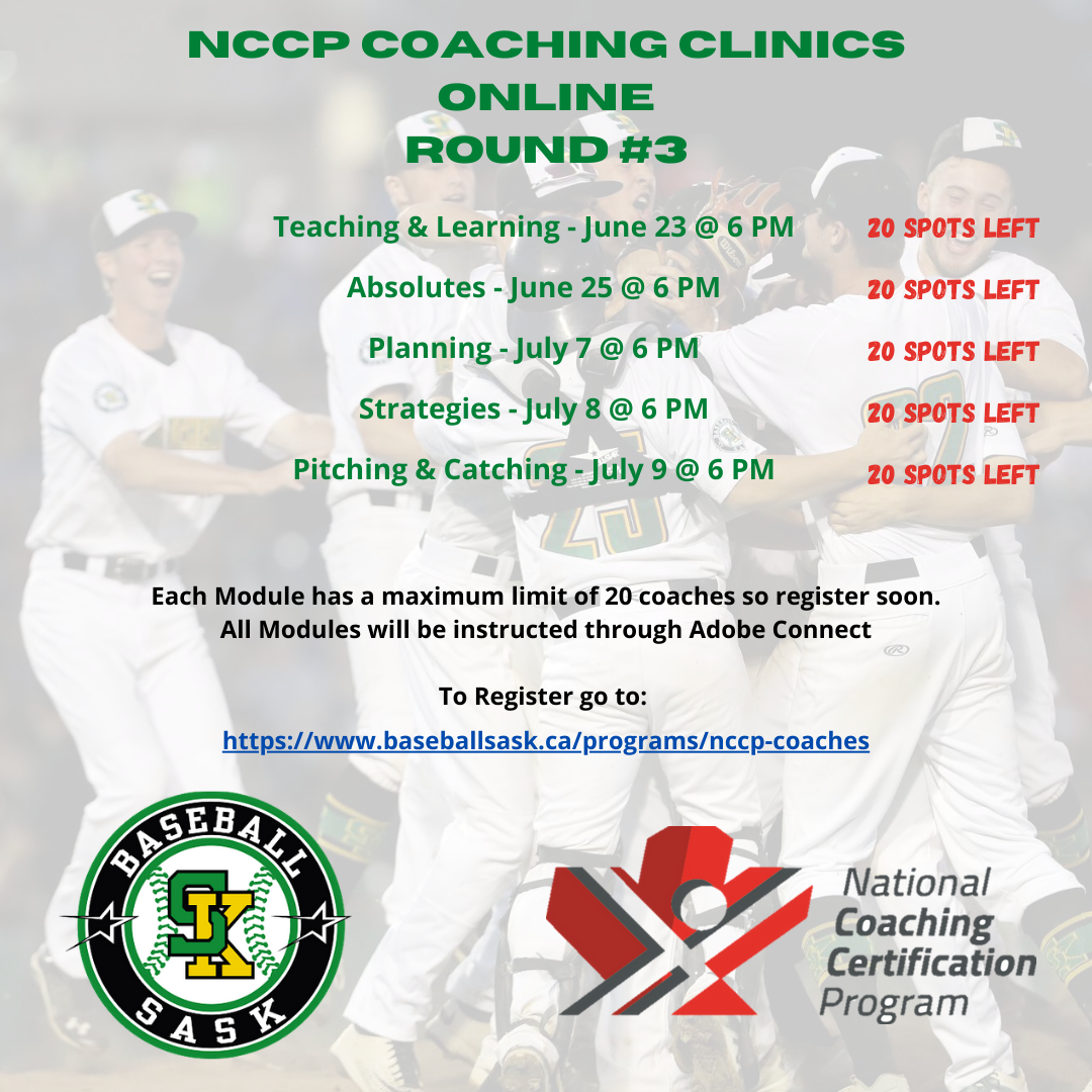 Online NCCP Coaching Clinics – NEW