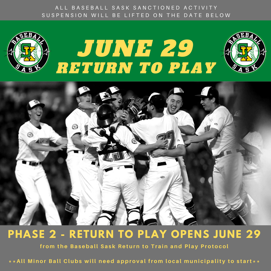 PHASE 2 – RETURN TO PLAY TO OPEN JUNE 29