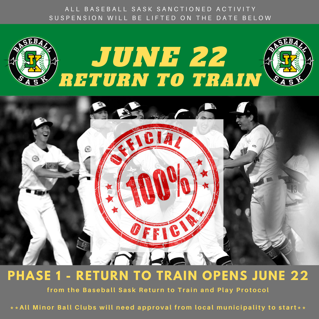 Phase 1 – Return to Train to Open June 22