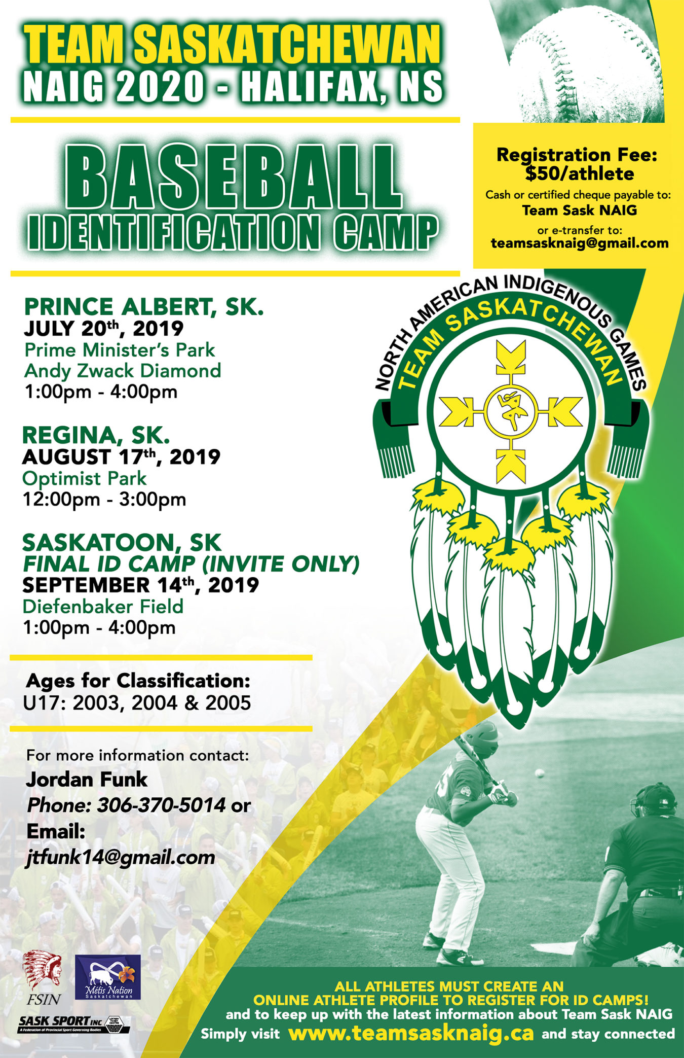 North American Indigenous Games – ID Camps