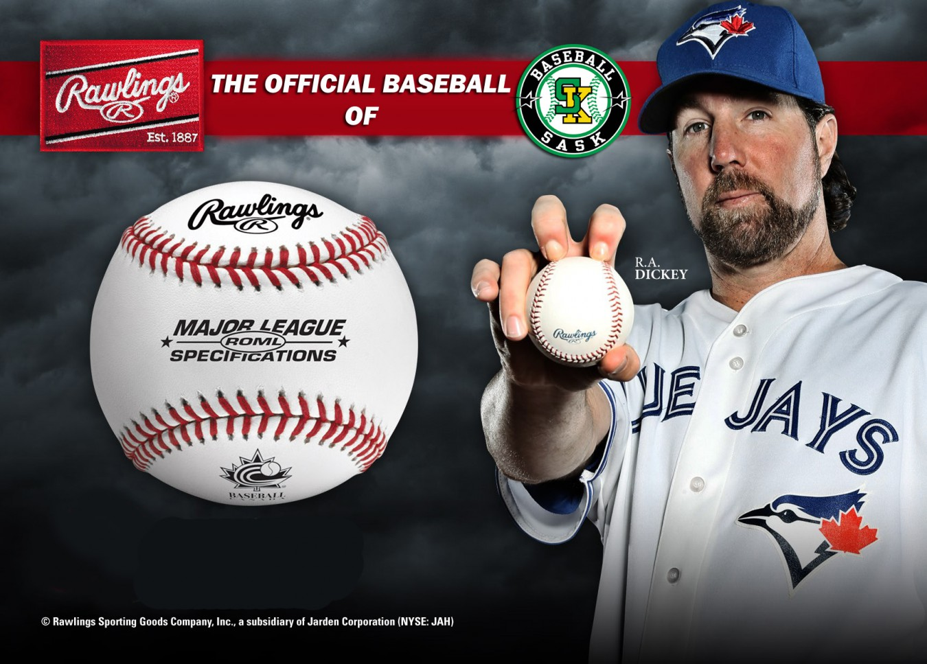 Sask Baseball And Rawlings Form New Partnership